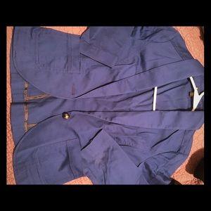 Express crop sleeve jacket
